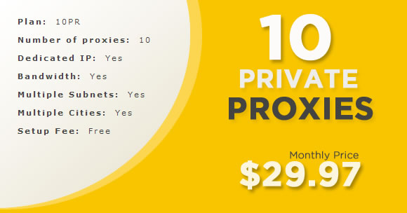 Your Private Proxy